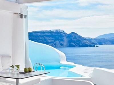 Hôtels avec vue sur la Caldera à Santorin
