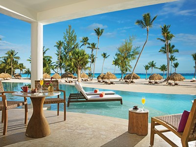 Preferred Club Master Suite Swim Out Ocean Front du Secrets Cap Cana