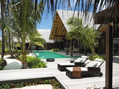 Villa Laalu du Shangri-La's Villingili aux Maldives