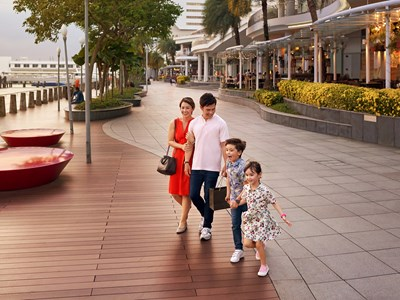 Vacances en famille à Singapour