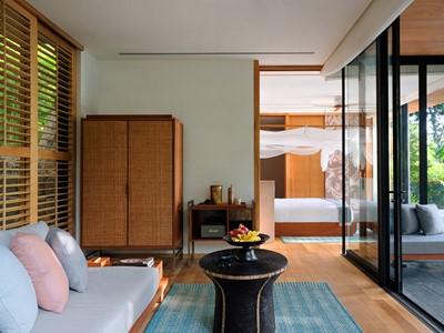 Hideaway Pool Villa Suite du Six Senses Krabey Island