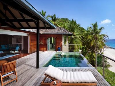 Pasyon Pool Villa du Six Senses Zil Pasyon aux Seychelles