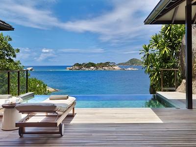 Hideaway Pool Villa du Six Senses Zil Pasyon aux Seychelles