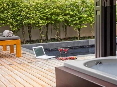 Pool Suite de l'Hôtel de la Paix à Luang Prabang