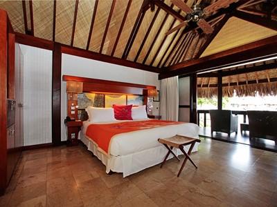 Bungalow Supérieur Vue Lagon de l'hôtel Sofitel à Moorea