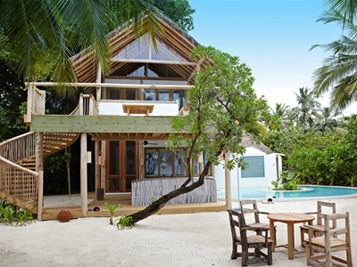 Crusoe Villa 2 Bedroom pool du Soneva Fushi aux Maldives