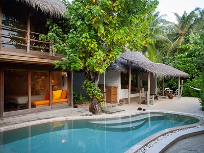 Soneva Fushi Villa Suite 2 bedroom with Pool