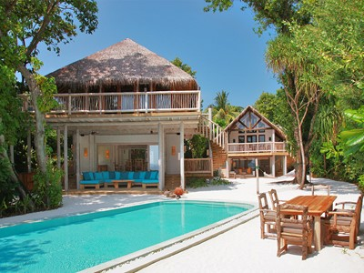 Crusoe Suite 3 Suite with Pool du Soneva Fushi aux Maldives