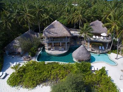 Soneva Fushi Jungle Reserve aux Maldives
