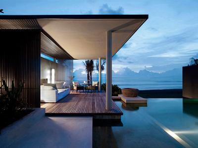 Ocean Pool Villa de l'hôtel Soori Bali