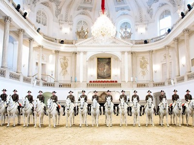 Spectacle Lipizzaner à Vienne