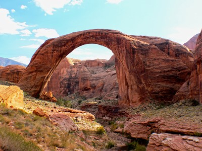 Survol en avion du Lac Powell et du Rainbow Bridge