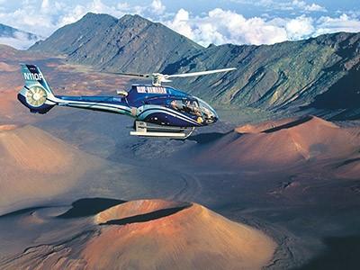 Survol en hélicoptère de l'île de Big Island, au départ de Waikoloa