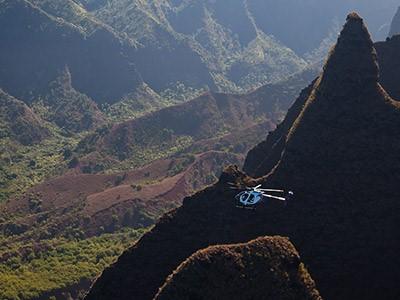 Survol en hélicoptère de Maui