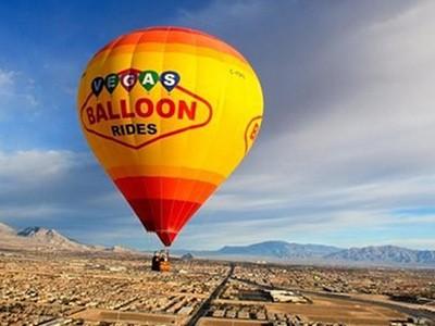 Survol de Las Vegas et du désert en montgolfière