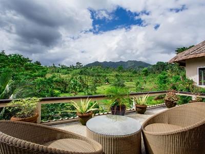 Terrasse offrant une belle vue sur le paysage