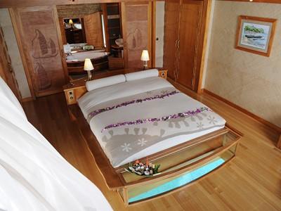 Suite sur Pilotis Tahaa de l'hôtel Tahaa en Polynésie