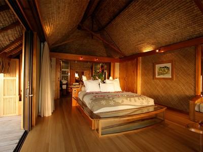 Suite sur Pilotis Premium Vue Bora Bora de l'hôtel Tahaa en Polynésie