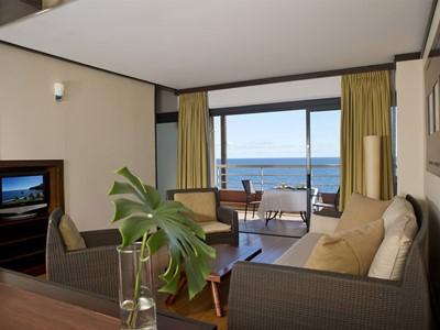 Premium Ocean View Duplex de l'hôtel Tahiti Pearl en Polynésie