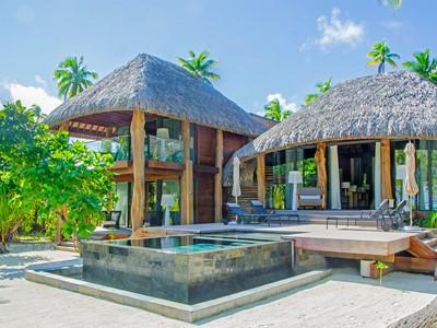 Two Bedroom Villa de l'hôtel The Brando situé en Polynésie