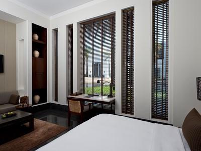 Chedi Deluxe Room de l'hôtel The Chedi à Oman