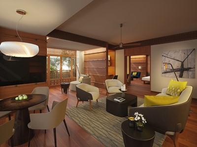 Canopy Suite de l'hôtel The Datai Langkawi