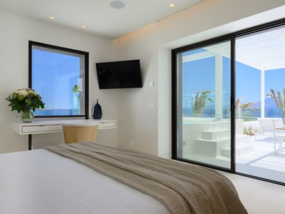 La Junior Suite Sea View Outdoor Jacuzzi