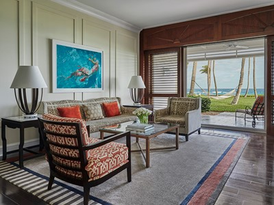 Beach Front Suite de l'Ocean Club, a Four Seasons Resort
