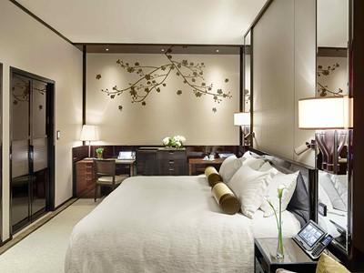 Deluxe Room de l'hôtel Peninsula à Hong Kong