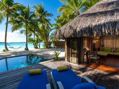 Beach Front Suite Villa With Pool