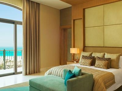 La Royal Suite du St. Regis Saadiyat Island Resort à Abu Dhabi