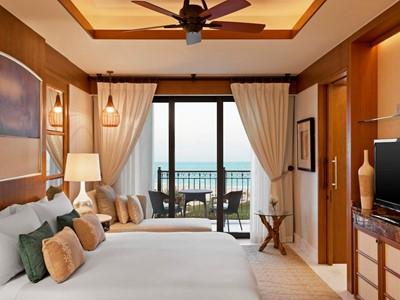 Supérieure Vue Partielle Mer du St. Regis Saadiyat Island Resort