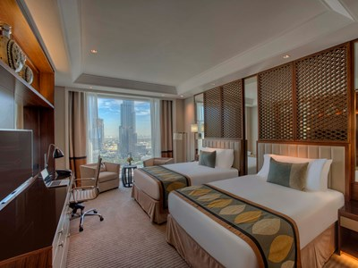 Luxury Burj View Room