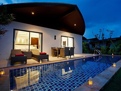 2 Bedroom Sea View Pool Villa