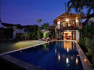 3 Bedroom Grand Beachfront Pool Villa
