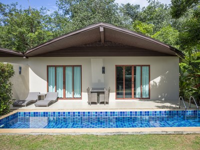 2 Bedroom Garden View Pool Villa