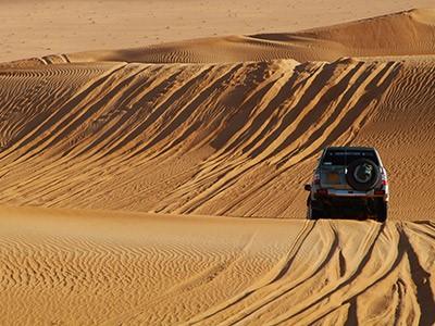 Tour du désert Rub al-Khali