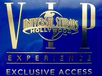 Universal Studios VIP Experience