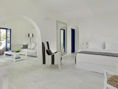 Suite Aegean de l'hôtel Vedema Resort en Grèce