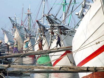Vieux port de Sunda Kelapa