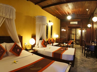 Suite 101 du Vinh Hung 1 Heritage Hotel à Hoi An