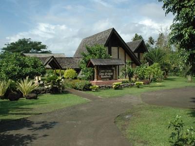 Visite du village d'Atuona à Hiva Oa