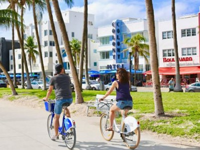 Visite guidée à vélo de South Beach (privative)