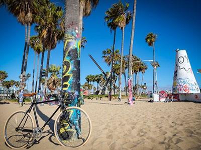 scène de rencontre à Santa Monica