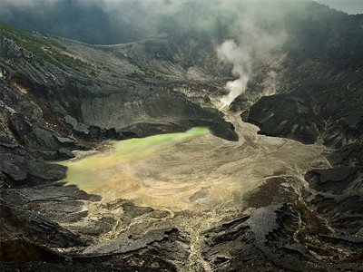 Volcan Tangkuban Perahu