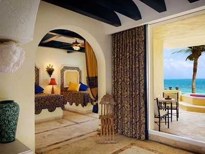 Ocean Front 1 Bedroom Suite Plunge Pool du Zoetry Paraiso
