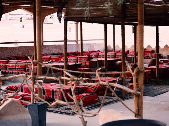 Le restaurant Arabian Nights du 1000 Nights Camp