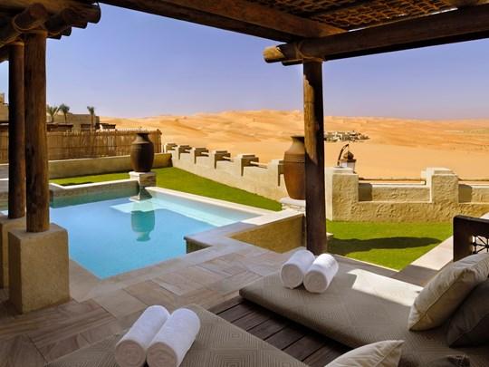Les villas du Qasr Al Sarab Desert Resort by Anantara