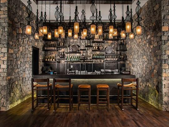 Rose Lounge de l'hôtel Alila Jabal Akhdar à Nizwa