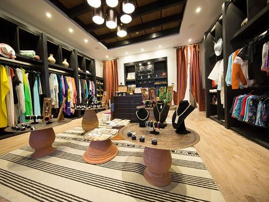 La boutique de l'hôtel Alila Jabal Akhdar à Oman